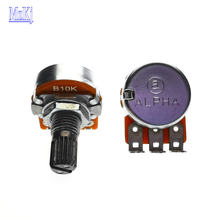 5PCS B10K Neue Original Taiwan WH148 RV16 10K B103 ALPHA Für HiFi Audio Verstärker Stepping Volumen Potentiometer