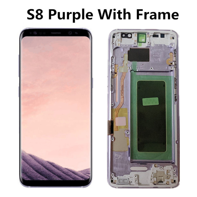 S8 Purple With Frame