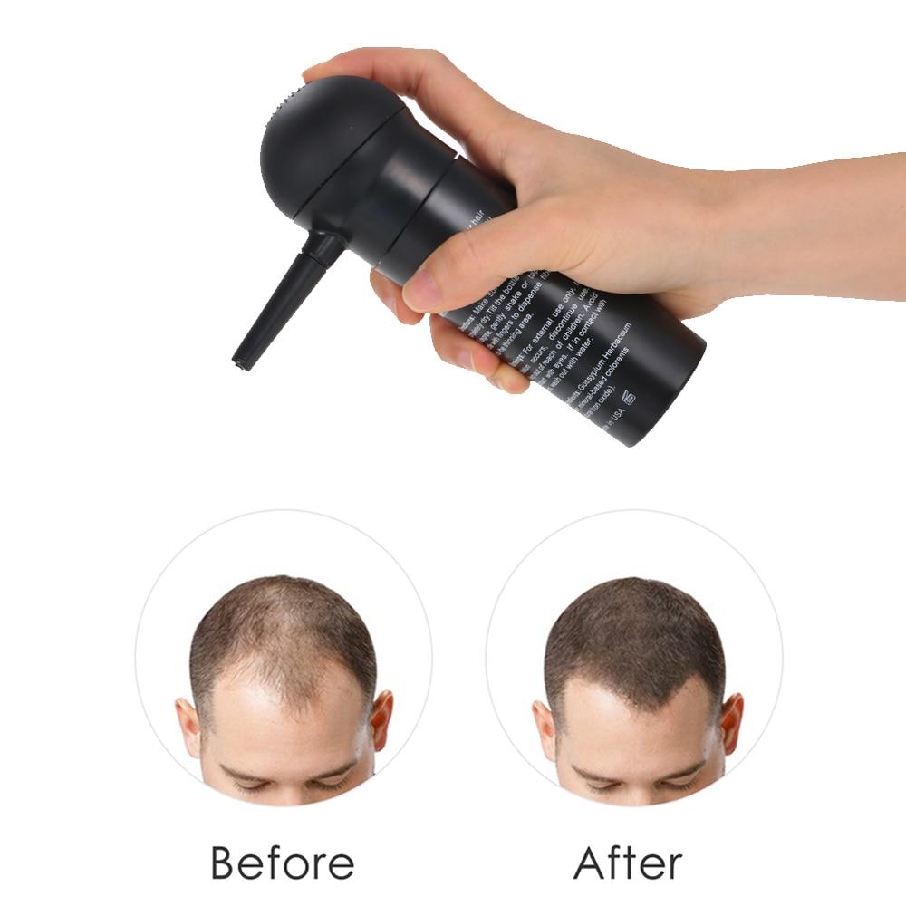 BUNEE Professional Hair Building Fibers Spray Atomizador Hair Fiber Spray Applicator Nozzle Pump Hair Thickening Tools 2
