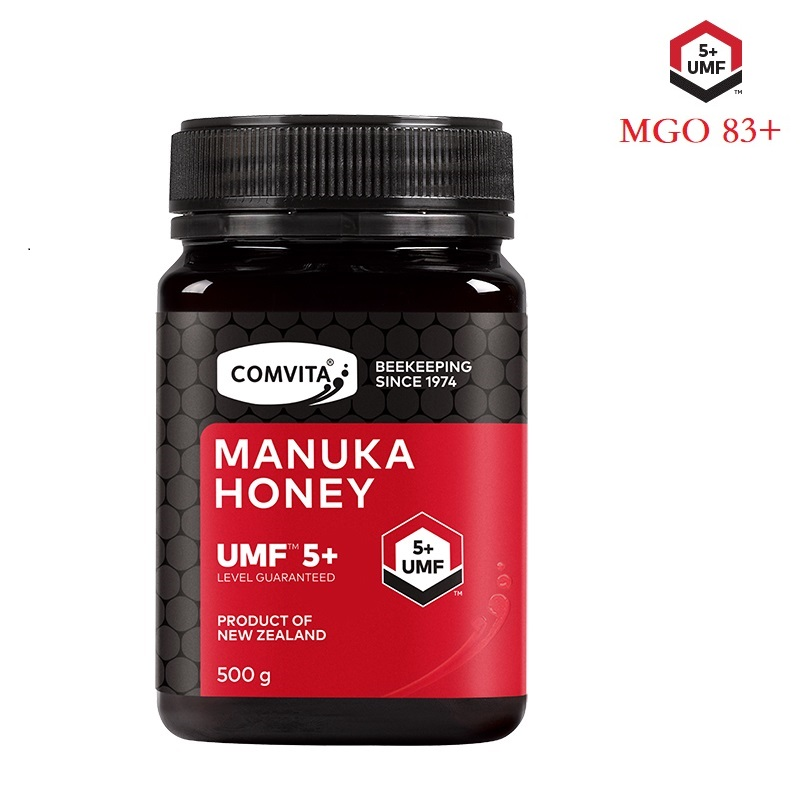 Original New Zealand Comvita Manuka Honey UMF5+ MGO83+ 500g For Digestive Immune Health Respiratory System Cough Sore Throat