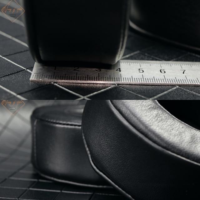 Echt Lamsleren Ear Pad Voor Sony MDR DS7500 MDR HW700DS Hoofdtelefoon Foam Kussen Oorbeschermer