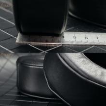Echtes Lammfell Leder Ohr Pad für SONY MDR DS7500 MDR HW700DS Kopfhörer Schaum Kissen Ohrenschützer