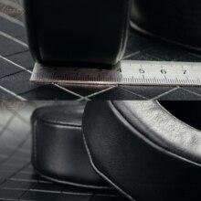 Hakiki kuzu derisi deri kulaklık yastığı SONY MDR DS7500 MDR HW700DS kulaklık köpük yastık kulaklık