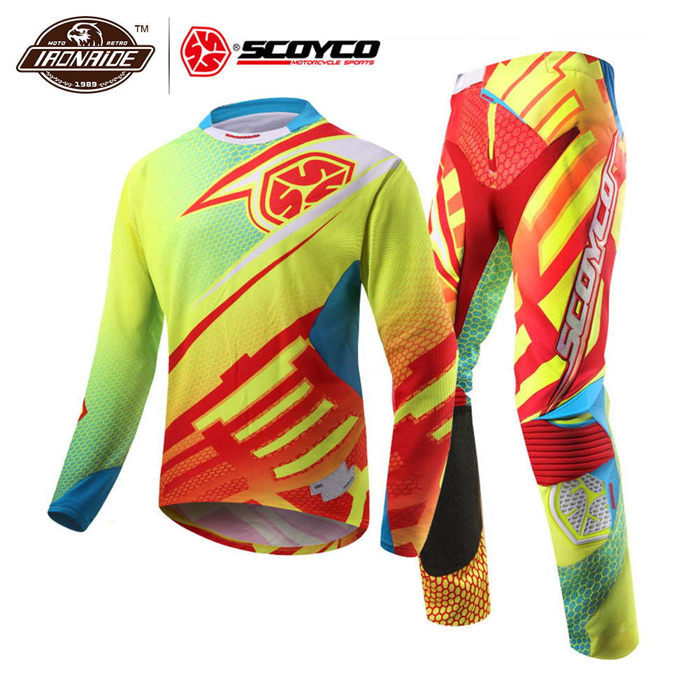 Clearance SCOYCO Motorcycle Jacket Men Off-road T-shirt Racing Jacket Racing T- Shirt Motocross Jacket For Summer#