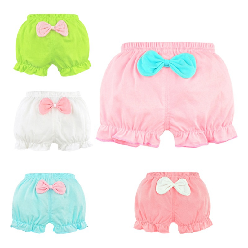 100% Cotton Girls Briefs Baby Underwear High Quality Kids Briefs Shorts Panties For Children's Clothes 1-5 Yer Bebe