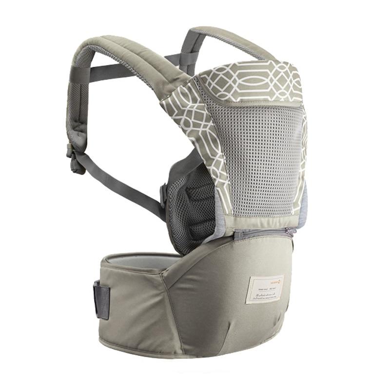 HereNice Newborn Infant Ergonomic Hipseat Rucksack Kids Kangaroo Carrier Baby Summer Hip Seat Wrap Sling Stuff