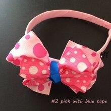 1 Pcs/lot Bowknot Girls Kids Hair Bows Headwear Hairpin Accessories For Children Ornaments Headdress