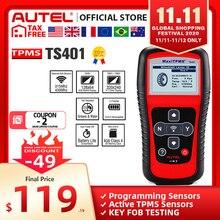 Autel MaxiTPMS TS401 Tpms ツール OBD2 スキャナアクティブスキャン TPMS センサーコピー OE id Mx センサープログラミング Autel TPMS mx センサー