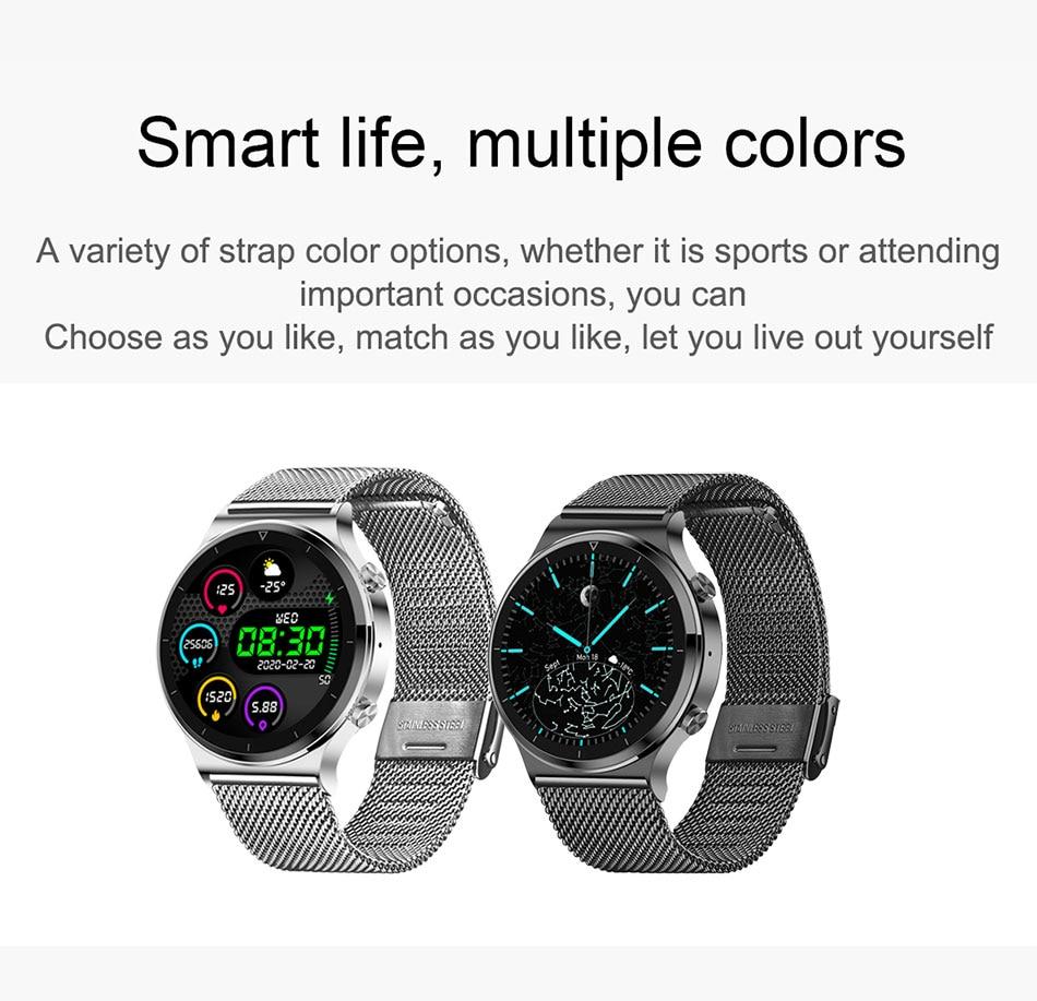 H9755b5e11fea46d39329965d17ad32afp LIGE 2021 New Smart watch Men IP68 waterproof watch Multiple sports modes heart rate weather Forecast Bluetooth Men Smart watch