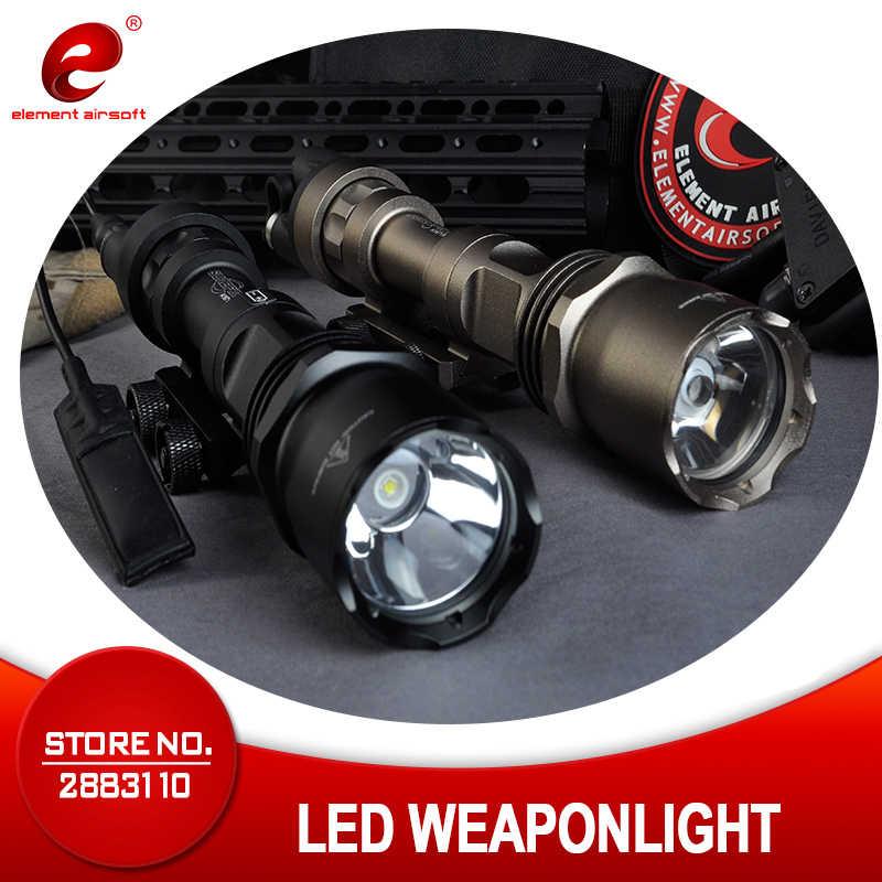 Linterna táctico Element Airsoft surafir M952V CREE Q5, linterna para Rifle para arma de caza, arma, luz EX192