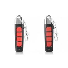Copiar 433 frequência porta da garagem controle remoto 433mhz clonagem 4-key carro rolling code portão duplicador de controle remoto