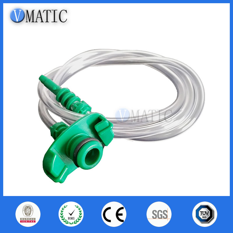 Free Shipping Glue Dispensing Dispenser American Type 10cc Ml Pneumatic Syringe Barrel Adapter