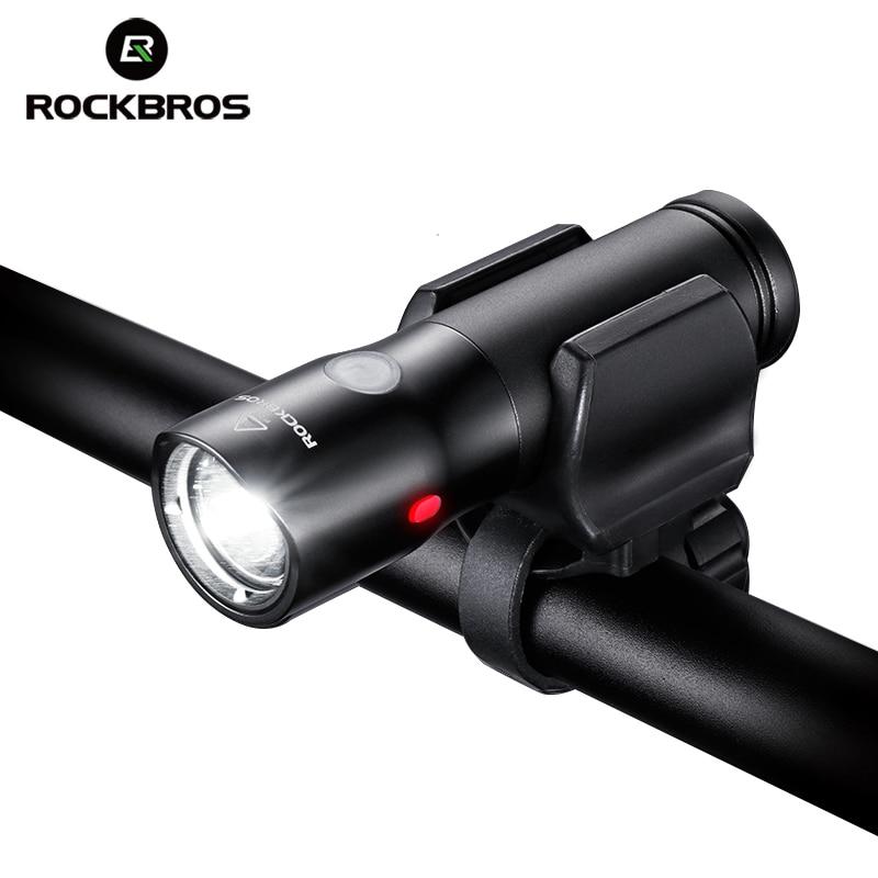 ROCKBROS Bicycle Light Power Bank Led Waterproof USB Rechargeable Bike Light Side Warning Flashlight 700 Lumen 2000mAh 5 Modes