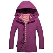 Inverno donna md-long Parka GoreTex fodera in cotone impermeabile cappotti e giacche isolamento termico giacca a vento con cappuccio capispalla