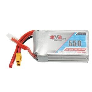 Image 2 - Gaoneng batterie GNB 2 pièces, 11.1V, 550mAh, 80/160C 3S, Lipo JST XT30, pour cinéma de course Micro Emax Babyhawk FPV, wharf BetaFPV Drone
