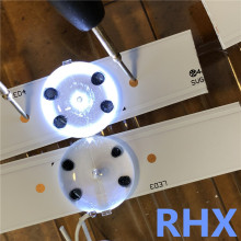 40 шт./лот 3 в SMD лампы бусины W/оптические линзы Fliter для 32-65 дюймов светодиодный инструмент для ремонта ТВ Новинка