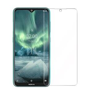 Image 2 - Vidro temperado Para NOKIA 7.2 6.2 4.2 3 V 3.1 C 3.1 A 2.2 3.2 4.2 Protetor De Tela 9H vidro temperado Para Nokia 1 Plus X71 Filme *