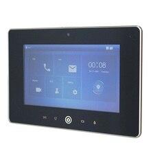 DH ロゴ多言語 VTH5221D 7 インチ屋内モニター、ビルドのカメラ、 SIP ファームウェア、 IP ドアベル、ビデオインターホン、有線ドアベル