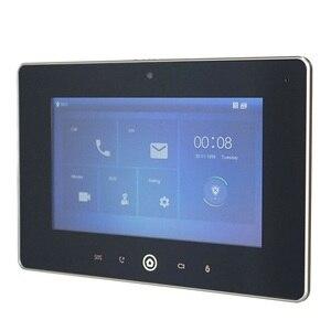 Image 1 - Dh logotipo multi idioma vth5221d monitor interno de 7 polegadas, build in câmera, sip firmware, campainha ip, vídeo porteiro, campainha com fio