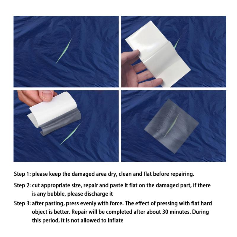 20 Pcs Repair Patches 10 TPU Tent Repair Tape and 10 Nylon Repair Patches Self-Adhesive Sticker Waterproof for Camping Tents,Awnings,Clothing Down Jacket Repair Holes Tearing