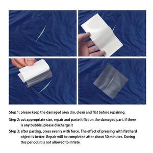 10 шт., водонепроницаемые прозрачные самоклеящиеся нейлоновые наклейки-нашивки