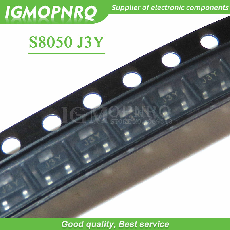 100PCS SMD S8050 8050 J3Y NPN SMD Transistor SOT-23 New Original Free Shipping