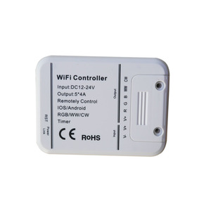 Image 2 - led controller RGB/WW/CW Wifi 5channels,16Million colors smartphone control music and timer mode magic home wifi led controller