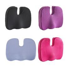 Travel Breathable Seat Cushion Coccyx Orthopedic Memory Foam U Massage Chair Pad Car Office U-Shape