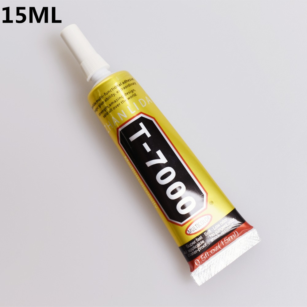 1 Pc 15ml T-7000 Glue T7000 Multi Purpose Glue Adhesive Epoxy Resin Repair Cell Phone LCD Touch Screen Super DIY Glue T 7000