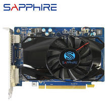 Used SAPPHIRE HD6570 1GB For AMD Video Card GPU Radeon HD 6570 GDDR5 128bit Graphics Cards PC Computer Game For Video Cards HDMI
