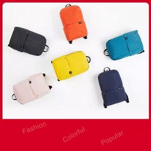 Image 5 - الأصلي شاومي Mi حقيبة صغيرة 7L 10L الملونة الترفيه الرياضة الصدر حزمة حقائب للجنسين للرجال النساء السفر التخييم