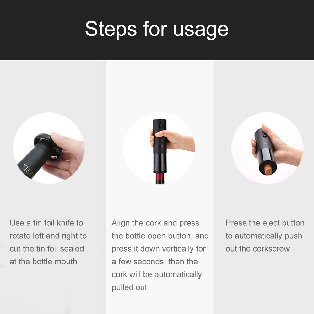 Rechargeable Automatic Bottle Opener 4