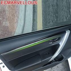 Auto uchwyt drzwi kierownicy samochodów chrom zmodyfikowany samochód stylizacji modyfikacji 14 15 16 17 18 19 dla Toyota Corolla w Naklejki samochodowe od Samochody i motocykle na
