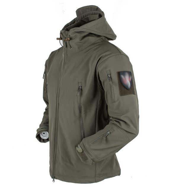 Shark skin tad v4 roupa masculina para caça, para atividades ao ar livre, tático, militar, à prova d' água, combate, fleece, jaqueta