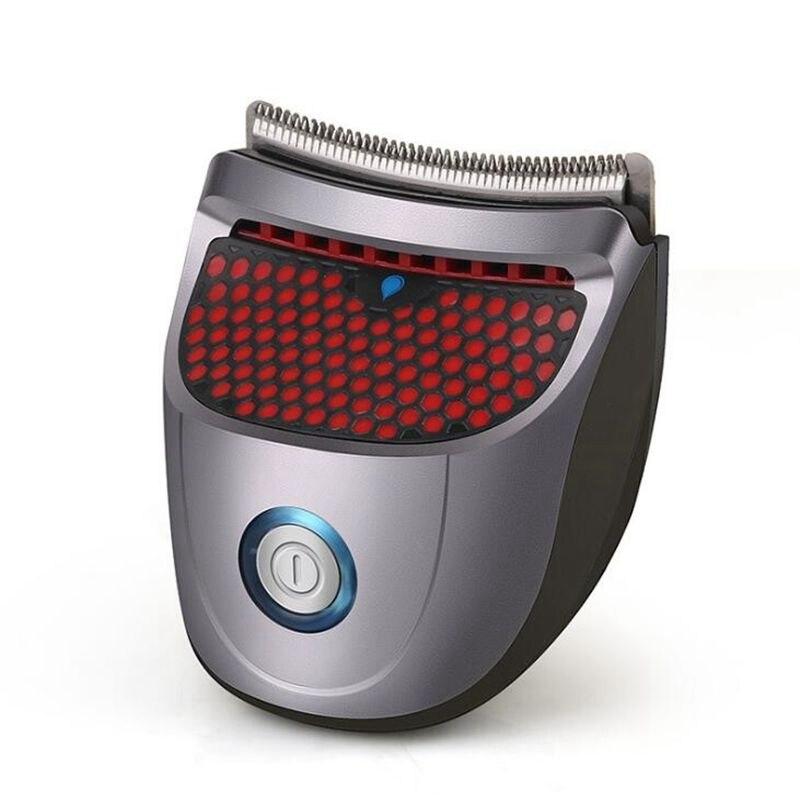 Tondeuse à cheveux Portable électrique sans fil Mini tondeuse à cheveux professionnel barbe rasoir tondeuse lavable Machine à raser 9 peignes