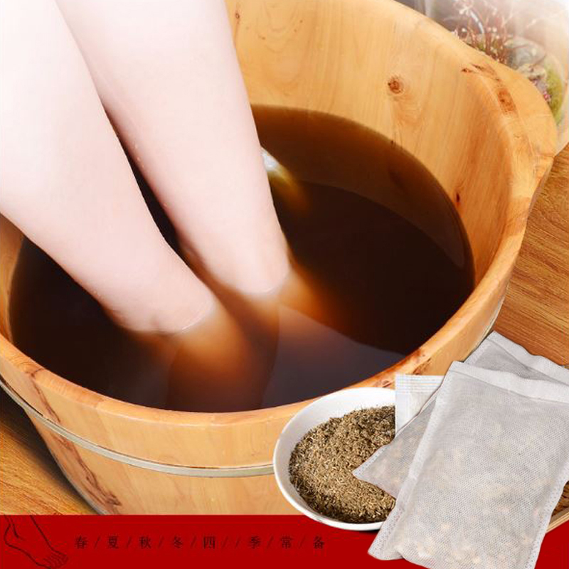 Image 3 - 30pcs Foot SPA Bath Massage Feet Warmer Wormwood Ginger Soaking Bag Detoxification Dysmenorrhea Insomnia Anti Edema    -