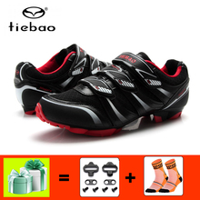 купить TIEBAO Cycling Shoes sapatilha ciclismo mtb men sneakers women Mountain Bike zapatillas deportivas mujer Athletic bicycle shoes дешево