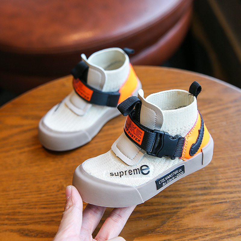 MXHY Baby Board Shoes Sports Shoes 2019spring And Autumn New Men And Women Children's Shoes 0-3 Years Old Breathable Socks Shoes