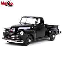Maisto 1:24 Chevrolet retro pickup Alloy car model die-casting model car simulation car decoration collection gift toy maisto 1 24 nissan gtr alloy car model die casting model car simulation car decoration collection gift toy