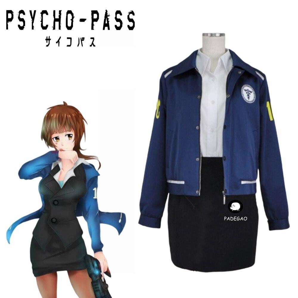 PSYCHO-PASSER Akane Tsunemori Sécurité Publique Bureau Uniforme Costume Costume de Cosplay