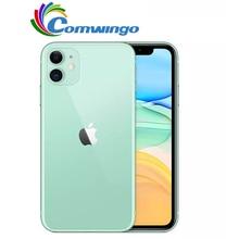 Original unlocked Apple iPhone 11 64GB/128GB/256GB 3110mAh dual 12MP camera A13 chip 6.1 inch LCD screen IOS LTE 4G