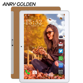 RU ES In stock New ANRY RS10 Tablet Android 7.0 OS 10.1 Inch 3G Network Phone Call 1280*800 Phablet Quad Core 1GB RAM 16GB ROM new in stock mi ram m1