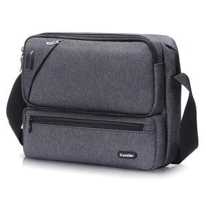Image 4 - ICozzier Multiuso/Multi Spazio Borsa con tracolla Accessori Elettronici Dellorganizzatore di Immagazzinaggio Sling Messenger Bag per iPad, Ombrello,