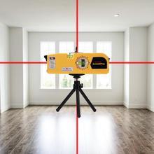 360 градусов Инфракрасный лазерный уровень ленты весы горизонтальная линейка измерительный инструмент