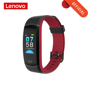 "Image 1 - Lenovo Smart Wristband HX11 0.96"" Heart Rate Monitoring Band 3D Color Screen Sports Smart Watch Weather Display Smart Reminder"