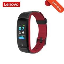 """Lenovo bracelet intelligent HX11 0.96 """"fréquence cardiaque surveillance bande 3D couleur écran sport montre intelligente affichage météo rappel intelligent"""