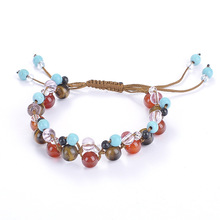 New hand-woven ladies bracelet crystal pendant temperament jewelry