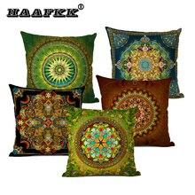 Gran oferta Mandala Biblia Oriente Medio Armenia India Oriental Bliss sol Luna arararat flor arabesco funda de cojín para sofá