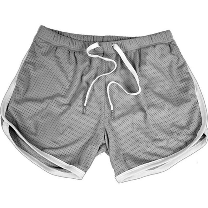 Running Shorts Men Gym Fitness Training GITF Quick Dry Beach Short Pants Male Summer Sports Workout Fitness Bottoms 18