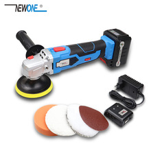 Waxing Machine with 16V Lithium Battery Portable Cordless Car Polisher 5 level Adjustable Speed Polishing Machine M10 Thread